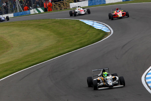 2015 MSA Formula Powered by Ford EcoBoost, Donington Park, Leicestershire. 16th - 19th April 2015. James Pull (GBR) JTR MSA Formula. World Copyright: Ebrey / LAT Photographic.