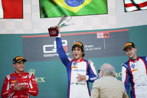 Pedro Piquet (BRA, Trident) Ryan Tveter (USA, Trident) and Giuliano Alesi (FRA, Trident)