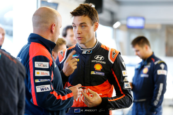 2015 World Rally Championship  Round 12, Rally of Spain, Catalunya 22nd - 25th October, 2015 Hayden Paddon, Hyundai, portrait  Worldwide Copyright: McKlein/LAT