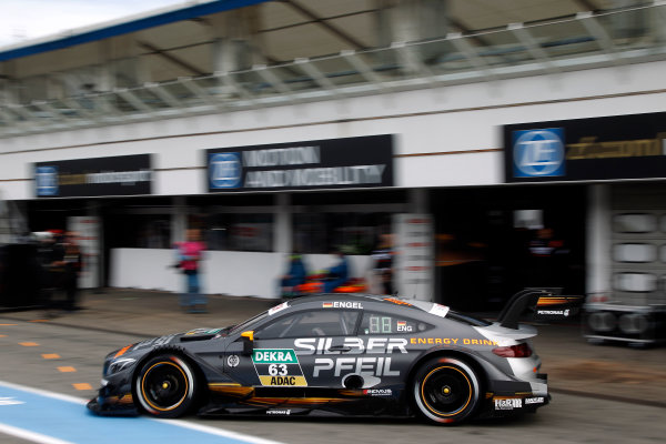 2017 DTM Round 1 Hockenheim, Germany. Saturday 6 May 2017. Mattias Ekstr?m, Audi Sport Team Abt Sportsline, Audi A5 DTM World Copyright: Alexander Trienitz/LAT Images ref: Digital Image 2017-DTM-R1-HH-AT1-1334