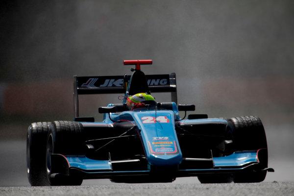 2017 GP3 Series Testing Estoril, Portugal. Thursday 23 March 2017 Arjun Maini (IND, Jenzer Motorsport). Action.  Photo: Alastair Staley/GP3 Series Media Service ref: Digital Image 580A3823