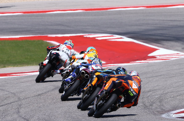 2017 Moto3 Championship - Round 3 Circuit of the Americas, Austin, Texas, USA Sunday 23 April 2017 Niccolo Antonelli, Red Bull KTM Ajo World Copyright: Gold and Goose Photography/LAT Images ref: Digital Image Moto3-R-500-2964