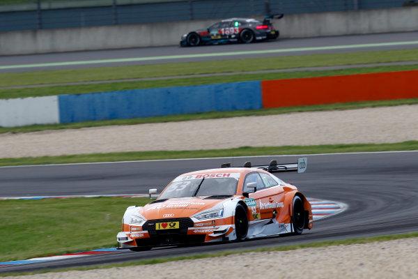 2017 DTM Round 2 Lausitzring, Germany. Saturday 20 May 2017. Jamie Green, Audi Sport Team Rosberg, Audi RS 5 DTM World Copyright: Alexander Trienitz/LAT Images ref: Digital Image 2017-DTM-R2-ESL-AT1-1244