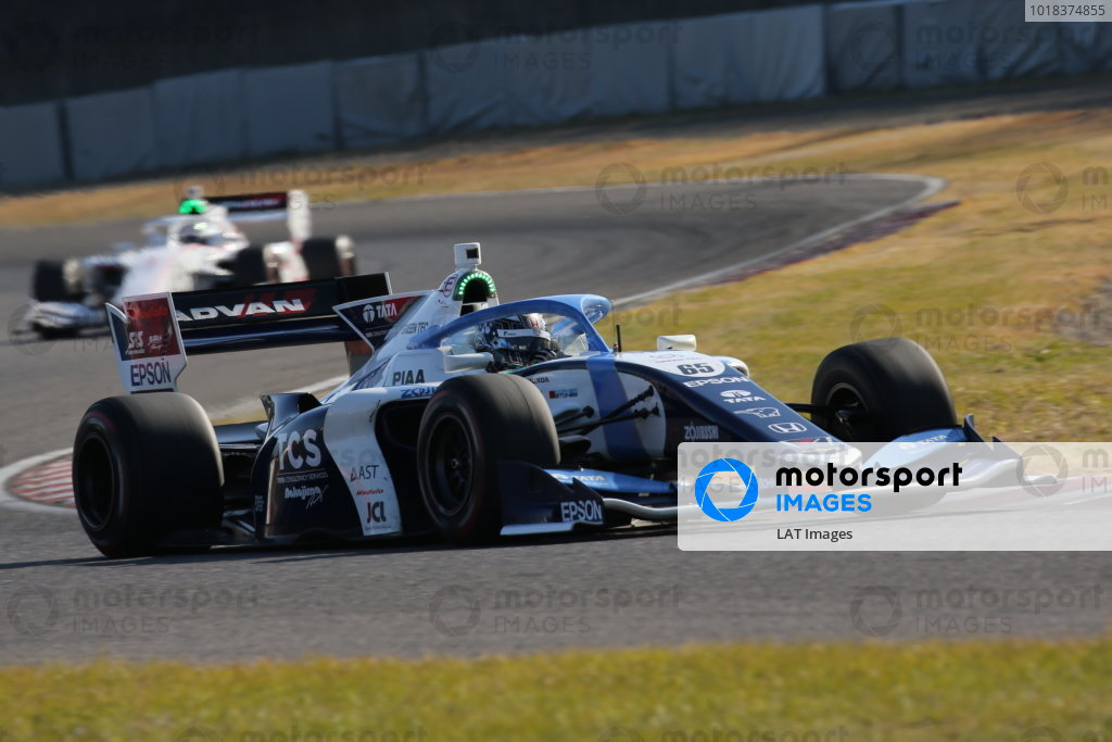 Round six winner Toshiki Oyu ( #65 TCS NAKAJIMA RACING ), Dallara SF19 Honda. Photo: Yukio Yoshimi