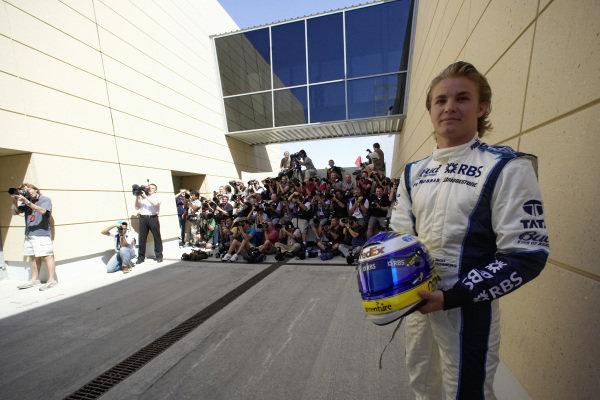 Nico Rosberg ahead of his Formula One debut.