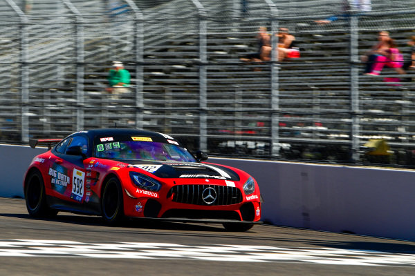 #592 Mercedes-AMG of Mark Ramsey and Alexandre Premat  Rose Cup Races, Portland OR