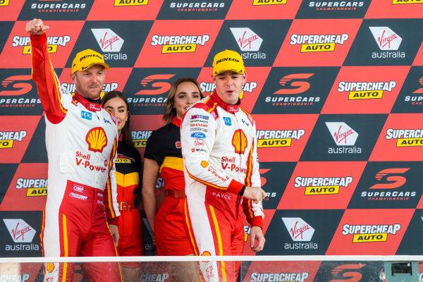 Scott McLaughlin, Alexandre Premat, DJR Team Penske Ford