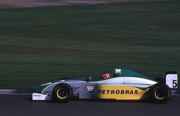 Silverstone, England. 22-23/3/2000. Jaime Melo, Petrobras Junior Team. World - LAT Photographic