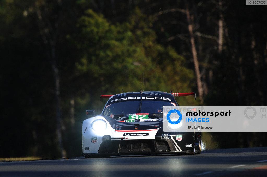 #92 Porsche GT Team Porsche 911 RSR - 19: Michael Christensen / Kevin Estre / Laurens Vanthoor