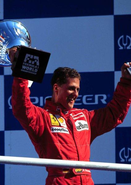1996 Italian Grand Prix.Monza, Italy.6-8 September 1996.Michael Schumacher (Ferrari F310) 1st position.World Copyright - LAT Photographic