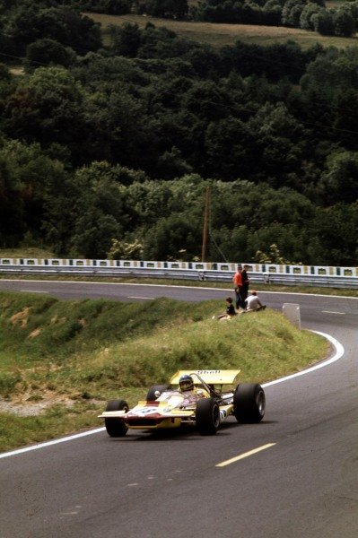 1970 French Grand Prix.Clermont-Ferrand, France.3-5 July 1970.Ronnie Peterson (March 701 Ford).Ref-70 FRA 01.World Copyright - LAT Photographic