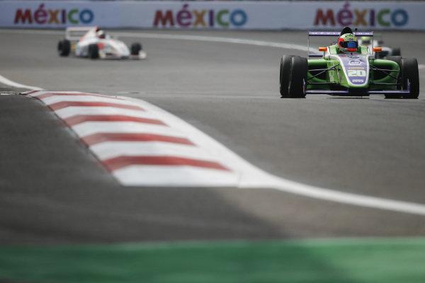 Sergio Martinez (MEX) MARESPI RACING at Formula 4 Series, Circuit Hermanos Rodriguez, Mexico City, Mexico, 30 October 2016.