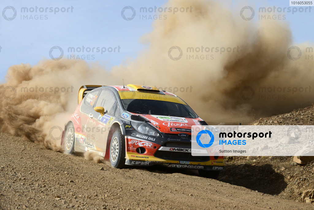 Martin Prokop (CZE) and Michal Ernst (CZE), Ford Fiesta RS WRC on stage 21. FIA World Rally Championship, Rd3, Rally Guanajuato Mexico, Leon, Mexico, Day Three, Sunday 10 March 2013.