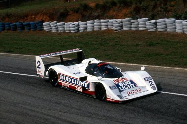 Davy Jones (USA) Jaguar Racing Jaguar XJR-14. IMSA GTP, Rd4, Road Atlanta, USA, 26 April 1992.