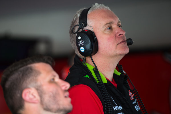 2016 V8 Supercar Championship Round 4.  Perth SuperSprint, Barbagallo Raceway, Western Australia, Australia. Friday 6th May to Sunday 8th May 2016. Adrian Burgess, Team Manager of the Holden Racing Team Holden Commodore VF. World Copyright: Daniel Kalisz/LAT Photographic Ref: Digital Image 060516_V8SCR4_PPERTH_DKIMG_1517.JPG