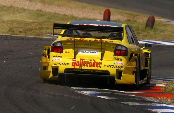 2004 DTM ChampionshipMotopark Oschersleben, Germany. 5th - 8th August 2004.Tom Kristensen (Abt Sportsline Audi A4). Rear ActionWorld Copyright: Andre Irlmeier/LAT Photographic