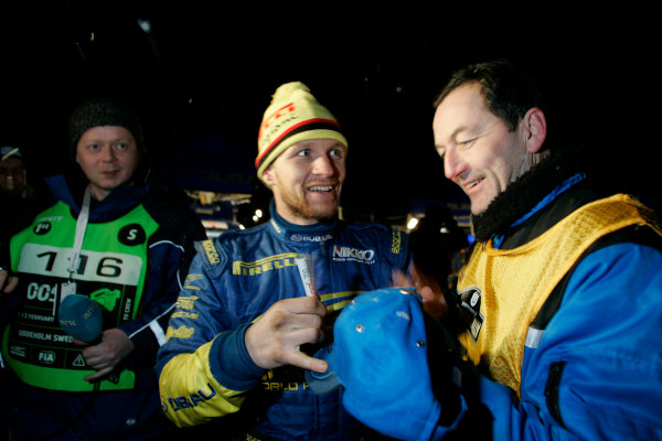 2005 FIA World Rally Champs. Round two Swedish Rally.10th-13th February 2005.Petter Solberg, Subaru, portrait.World Copyright: McKlein/LAT