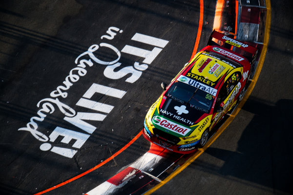 2017 Supercars Championship Round 12.  Gold Coast 600, Surfers Paradise, Queensland, Australia. Friday 20th October to Sunday 22nd October 2017. Chaz Mostert, Rod Nash Racing Ford.  World Copyright: Daniel Kalisz/LAT Images Ref: Digital Image 201017_VASCR12_DKIMG_1421.jpg
