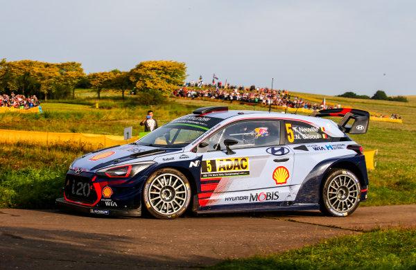 2017 FIA World Rally Championship, Round 10, Rallye Deutschland, 17-20 August, 2017, Thierry Neuville, Hyundai, action, Worldwide Copyright: McKlein/LAT