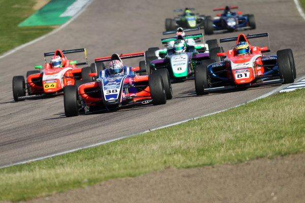 2017 British F4 Championship, Rockingham, 26th-27th August 2017, Jamie Caroline (GBR) Carlin British F4  World copyright.. JEP/LAT Images