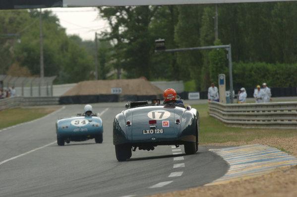 2005 Le Mans LegendsLe Mans, France. 16th JuneBarrie Williams/Stephen Skipworth (no 17 Jaguar XK120. Action World Copyright: Jeff Bloxham/LAT Photographic Ref: Digital image only.