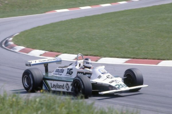 1980 Austrian Grand Prix.Osterreichring, Zeltweg, Austria. 15-17 August 1980.Carlos Reutemann (Williams FW07B-Ford Cosworth), 3rd position.World Copyright: LAT PhotographicRef: 35mm transparency 80AUT15