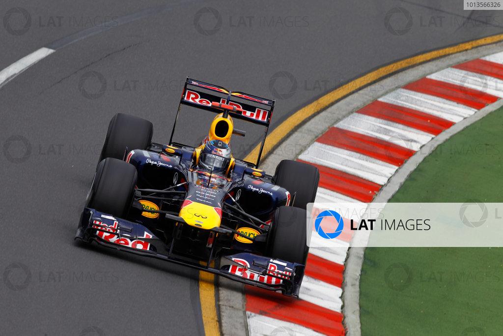 Albert Park, Melbourne, Australia25th March 2011.Sebastian Vettel, Red Bull Racing RB7 Renault.World Copyright: Andrew Ferraro/LAT Photographicref: Digital Image _Q0C7789
