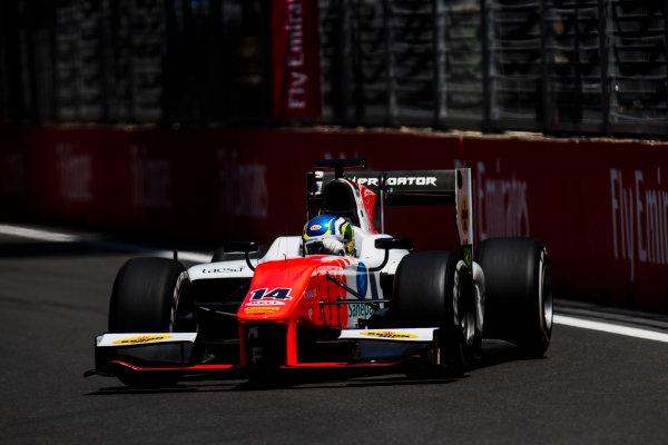 2017 FIA Formula 2 Round 4. Baku City Circuit, Baku, Azerbaijan. Friday 23 June 2017. Sergio Sette Camara (BRA, MP Motorsport)  Photo: Zak Mauger/FIA Formula 2. ref: Digital Image _54I9748