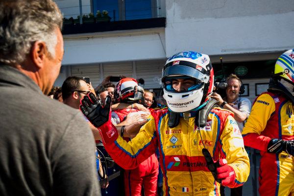 2017 GP3 Series Round 4.  Hungaroring, Budapest, Hungary. Sunday 30 July 2017. Giuliano Alesi (FRA, Trident).  Photo: Zak Mauger/GP3 Series Media Service. ref: Digital Image _56I4114