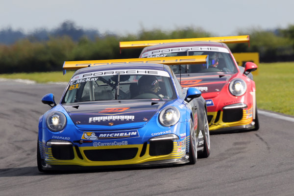 2017 Porsche Carrera Cup GB,  Snetterton. 29th-30th July 2017, Dan McKay (GBR) Redline Racing Porsche Carrera Cup World copyright. JEP/LAT Photographic