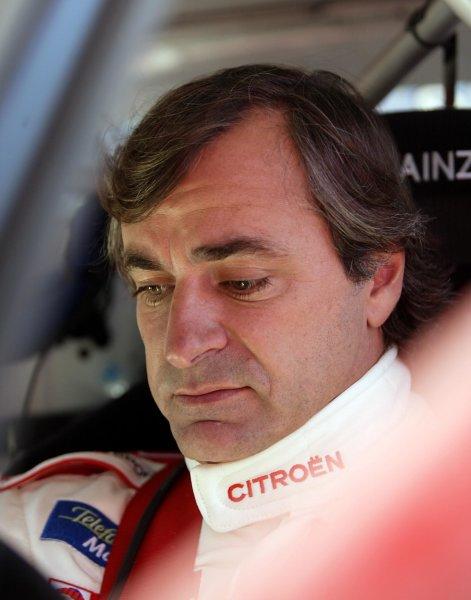 2003 FIA World Rally Champs. Round Five, Argentina,  8th-11th May 2003 Carlos Sainz, Citroen. World Copyright: McKlein/LAT