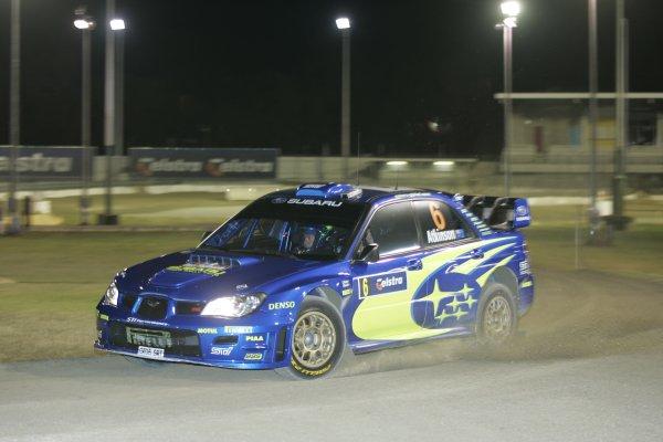 2006 FIA World Rally Champs. Round 6Rally Australia 26-29th October 2006Chris Atkinson Subaru actionWorld Copyright: McKlein/LAT