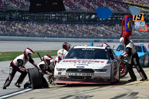 NASCAR Xfinity Series Sparks Energy 300 Talladega Superspeedway, Talladega, AL USA Saturday 6 May 2017 Joey Logano, Discount Tire Ford Mustang World Copyright: Rusty Jarrett LAT Images ref: Digital Image 17TAL1rj_2754