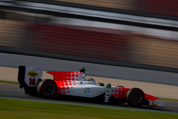 Circuit de Barcelona Catalunya, Barcelona, Spain. Monday 13 March 2017. Sergio Sette Camara (BRA, MP Motorsport). Action.  Photo: Alastair Staley/FIA Formula 2 ref: Digital Image 580A9922
