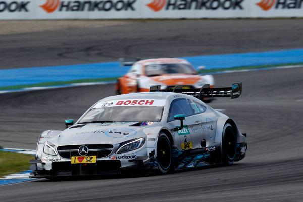 2017 DTM Round 1 Hockenheim, Germany. Friday 5 May 2017. Gary Paffett Mercedes-AMG Team HWA, Mercedes-AMG C63 DTM World Copyright: Alexander Trienitz/LAT Images ref: Digital Image 2017-DTM-R1-HH-AT1-0712