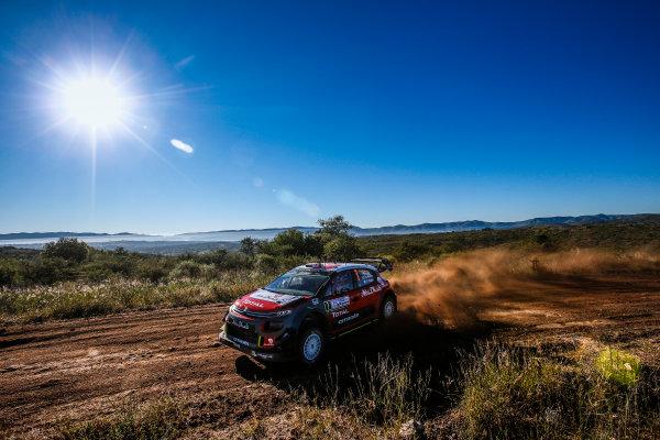 2017 FIA World Rally Championship, Round 05, Rally Argentina, April 27-30, 2017, Kris Meeke, Citroen, Action, Worldwide Copyright: McKlein/LAT