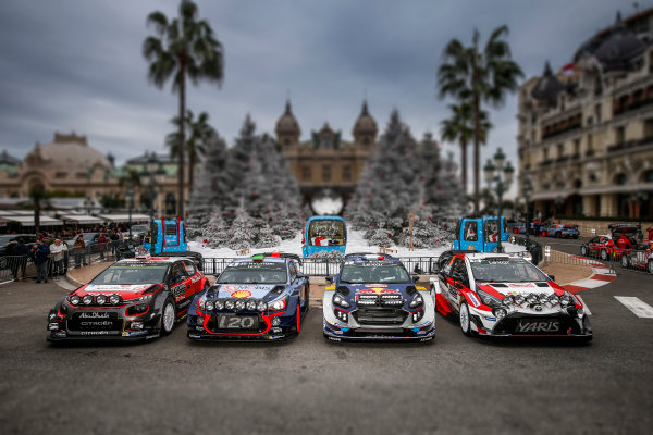 2017 FIA World Rally Championship, Round 01, Rally Monte Carlo, January 18-22, 2017, 2017 WRC Cars, Atmosphere Worldwide Copyright: McKlein/LAT