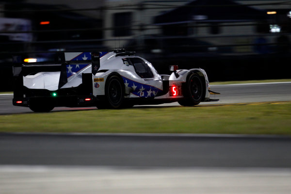 2017 Rolex 24 Hours. Daytona, Florida, USA Saturday 28 January 2017. #81 DragonSpeed ORECA 07: Henrik Hedman, Nicolas Lapierre, Ben Hanley, Loic Duval World Copyright: Alexander Trienitz/LAT Images ref: Digital Image 2017-24h-Daytona-AT2-2472