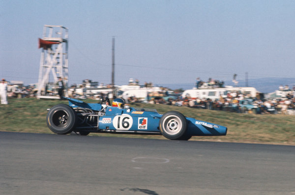 1969 United States Grand Prix.  Watkins Glen, New York, USA. 3-5th October 1969.  Johnny Servoz-Gavin, Matra MS84 Ford.  Ref: 69USA01. World Copyright: LAT Photographic