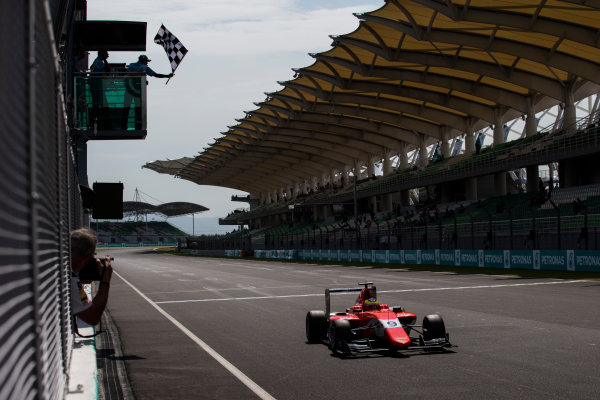 2016 GP3 Series Round 8 Sepang, Kuala Lumpur, Malaysia. Sunday 2 October 2016. Jake Dennis (GBR, Arden International)  Photo: Sam Bloxham/GP3 Series Media Service. ref: Digital Image _SLA4736