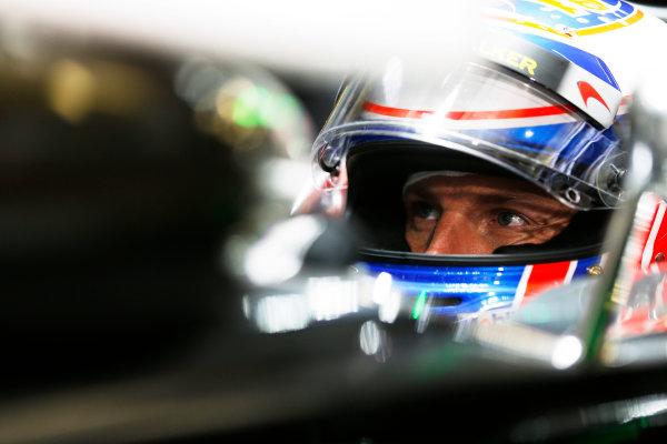 Shanghai International Circuit, Shanghai, China. Saturday 19 April 2014. Jenson Button, McLaren. World Copyright: Steven Tee/LAT Photographic. ref: Digital Image _L0U1668