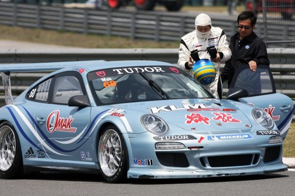 Mak Hing Tak (HKG) Omak Racing. Porsche Carrera Cup Asia, Shanghai, China, 16-18 April 2010.