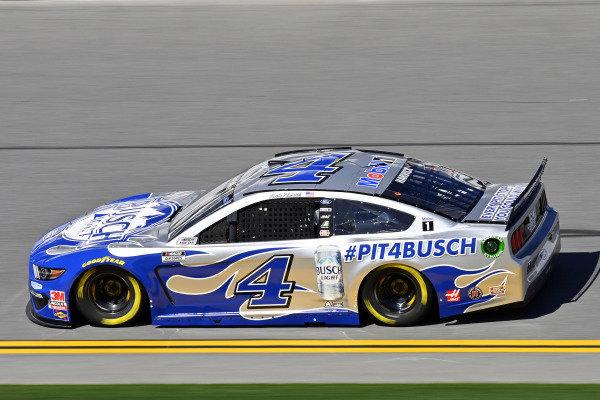 #4: Kevin Harvick, Stewart-Haas Racing, Ford Mustang Busch Light #PIT4BUSCH