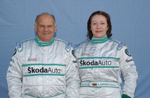 2002 World Rally ChampionshipUddeholm Swedish Rally, 1st-3rd February 2002.Stig Blomqvist and Anna Goni.Photo: Ralph Hardwick/LAT