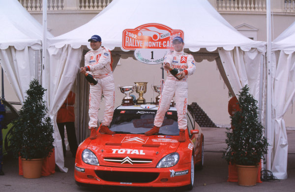 2002 FIA World Rally Champs