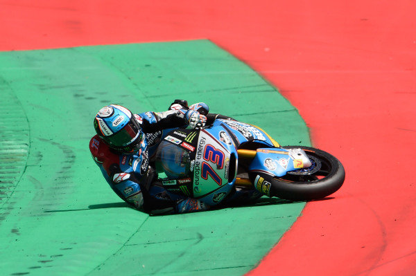 Crash of Alex Marquez, Marc VDS.