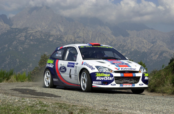 2001 World Rally Championship.Rallye de France, Ajaccio, Corsica, October 19-21.Colin McRae during shakedown.Photo: Ralph Hardwick/LAT