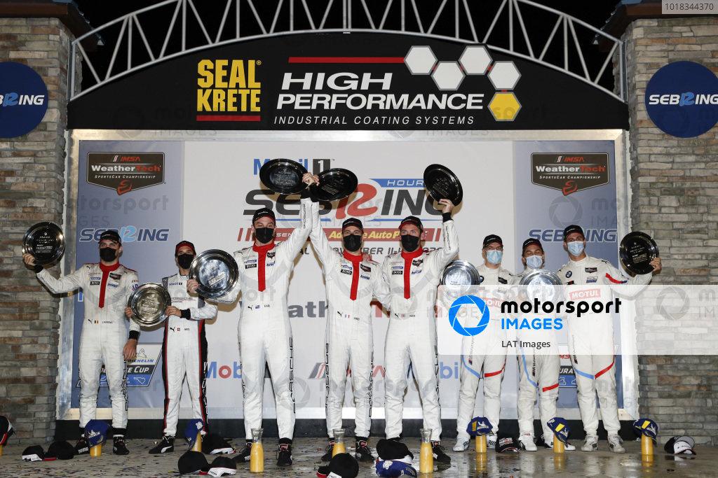 Podium: Winning team: Porsche GT Team Winning drivers: Nick Tandy, Fred Makowiecki, Earl Bamber Second place team: Porsche GT Team Second place drivers: Laurens Vanthoor, Earl Bamber, Neel Jani Third place team: BMW Team RLL Third pace drivers: John Edwards, Jesse Krohn, Augusto Farfus