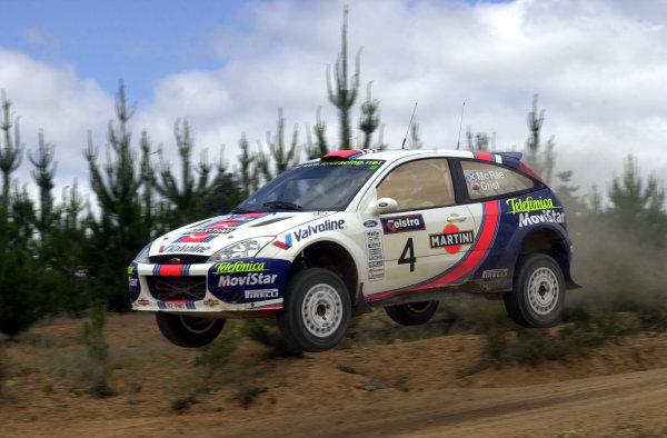 2001 World Rally ChampionshipTelstra Rally Australia, Perth, WA. 1-4 November 2001.Colin McRae on stage 19.Photo: Ralph Hardwick/LAT