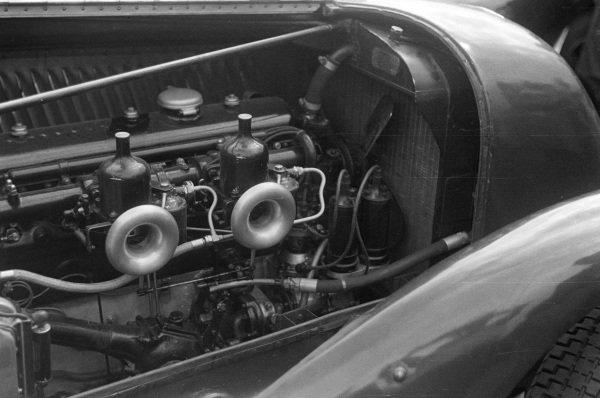 Engine detail.